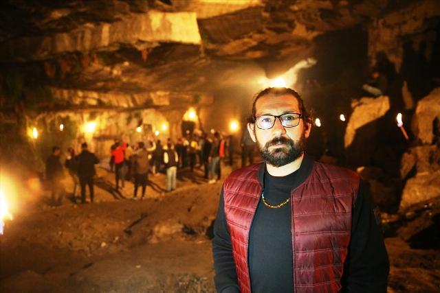 Mardin'deki Aslan Mağarası bir  dizi çekimine ev sahipliği yaptı
