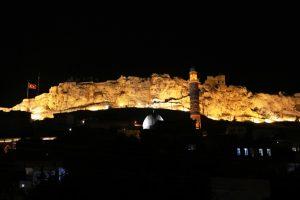 Mardin Kalesi'nin Aydınlatması Yenilendi