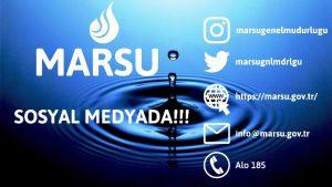 Marsu'ya artık Sosyal Medyadan ulaşabilirsiniz