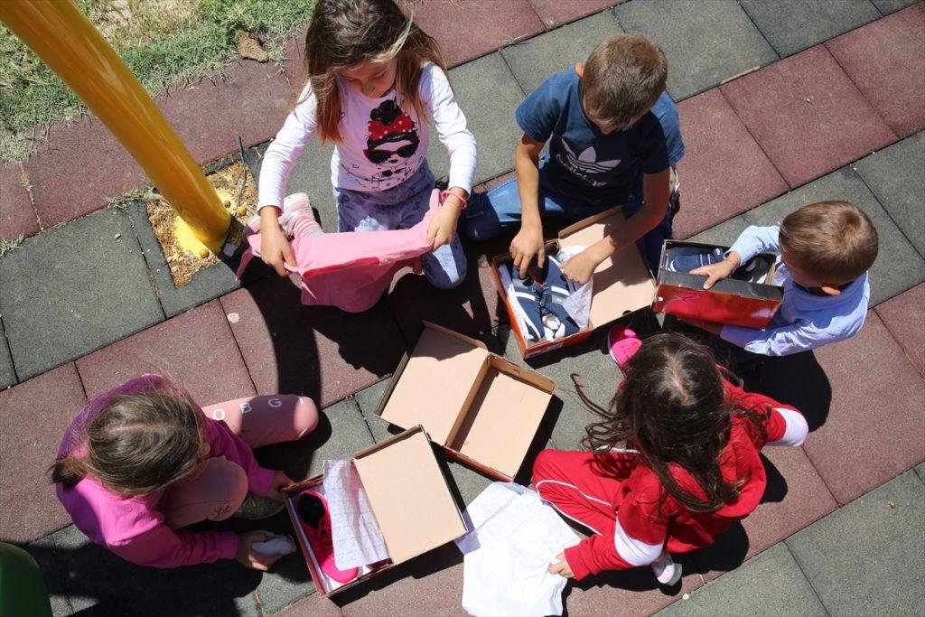 MardinBüyükşehir Belediyesi çocukları sevindirdi