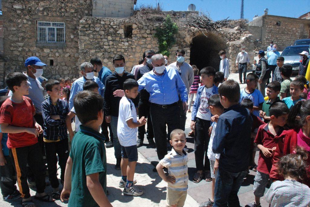 Çocuk parkının açılışı gerçekleştirildi