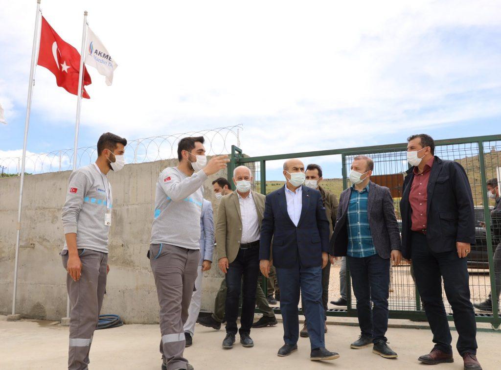 Vali Demirtaş, Savur'da alt ve üst yapı çalışmalarını inceledi
