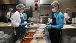 Yemek üretim, dağıtım, temizlik ve bulaşık hizmeti alınacak