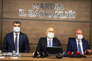 Bakan Karaismailoğlu, Mardin Valiliği ile AK Parti İl Başkanlığını ziyaret etti