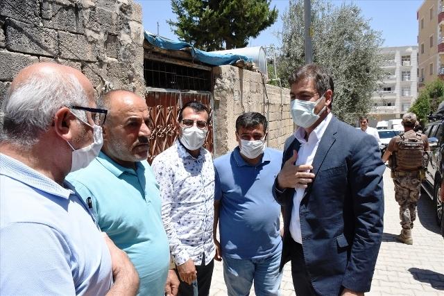 Demirkaya'dan  Suzan Öğretmenin  ailesine taziye ziyareti