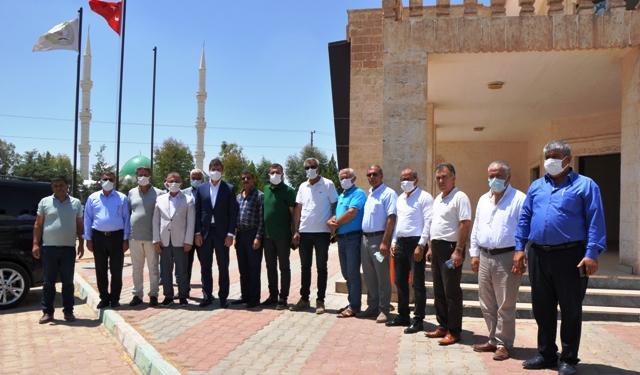 Milletvekili Demirkaya'dan Hububatçılara Ziyaret