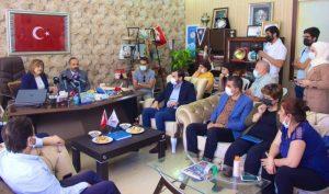 Başkan Fatma Şahin'den Gaziantep Basın Cemiyeti'ne nezaket ziyareti