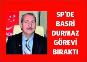 Saadet Partisi Artuklu İlçe başkanı görevi bıraktı