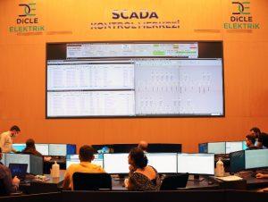Dicle Elektrik, SCADA merkezi kurdu