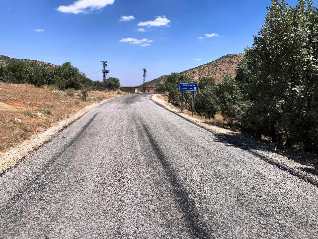Savur'da grup yolu tamamlandı