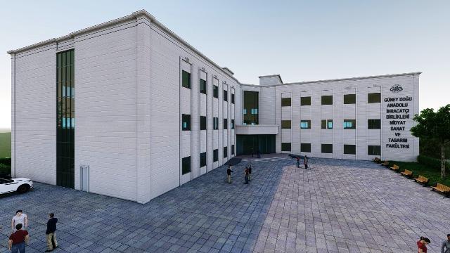 Midyat Sanat Ve Tasarım Fakültesi'ne Modern Bir Bina