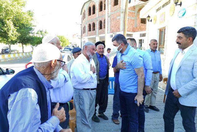 Ak Parti Mardin Teşkilatından  Midyat'a Çıkarma