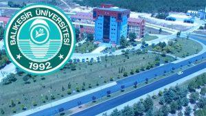 Balıkesir Üniversitesi akademik personel alacak