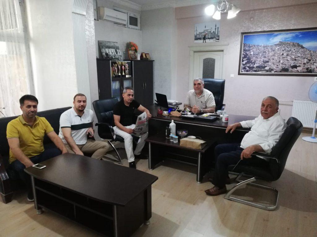 DEVA Partisi'nden gazetemize nezaket ziyareti