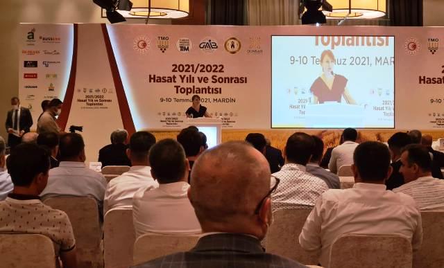 Mardin'de Üretici ve Sektör Liderleri 2021/2022 Hasat Yılını Değerlendirdi