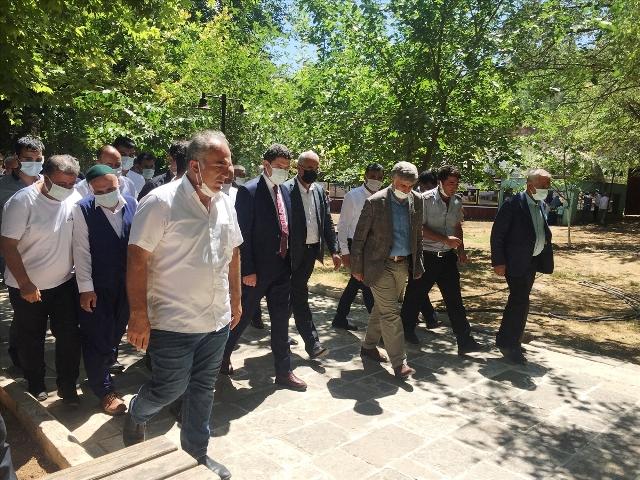 Sultan Şeyhmus Külliyesinin temeli törenle atıldı
