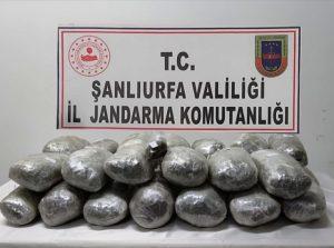 Mardin merkezli 2 ilde düzenlenen operasyonda 243 kilogram esrar ele geçirildi